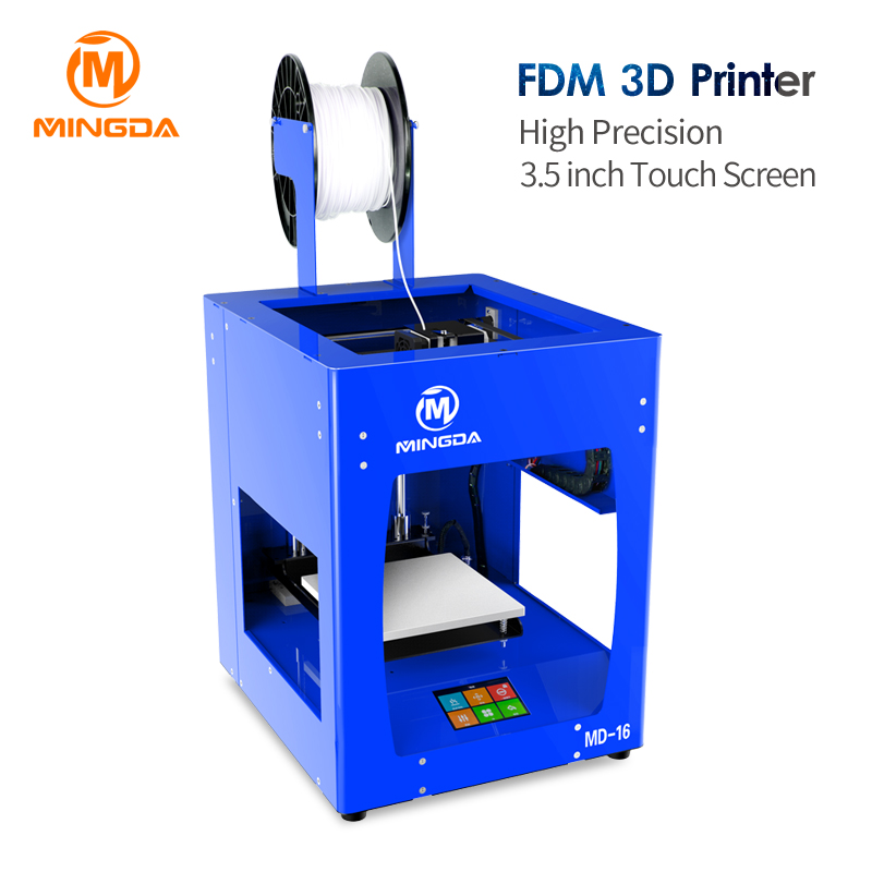 [해외]최고 품질의 3D 프린터 기계 교육 프린터 3D Md-16-31에 대 한 높은 정밀도 Fdm 데스크탑 3D 프린터/Top Quality 3D Printer Machine High Precision Fdm Desktop 3D Printer For Education