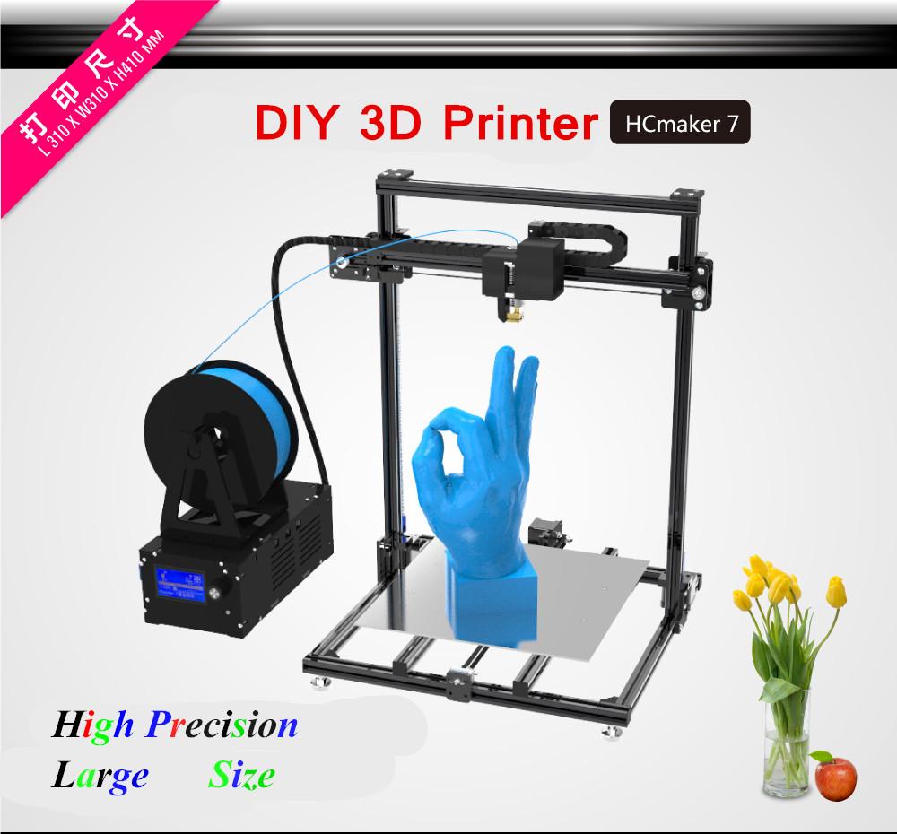 [해외]2017 고정밀 더블 Y 축 더블 Z 축 디자인 3D 프린터 310 * 310 * 410mm 슈퍼 크기 탱크 체인 3 D 프린터/2017 High Precision Double Y Axis Double Z Axis Design 3D Printer 310*310*