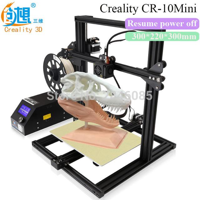 [해외]필라멘트 모니터링 경보 Creality CR - 10 미니 3D 프린터 대형 Prusa I3 키트 DIY 300 * 220 * 300mm 데스크톱 교육 3 D 프린터 DIY/Filament Monitoring Alarm Creality CR-10 Mini 3D