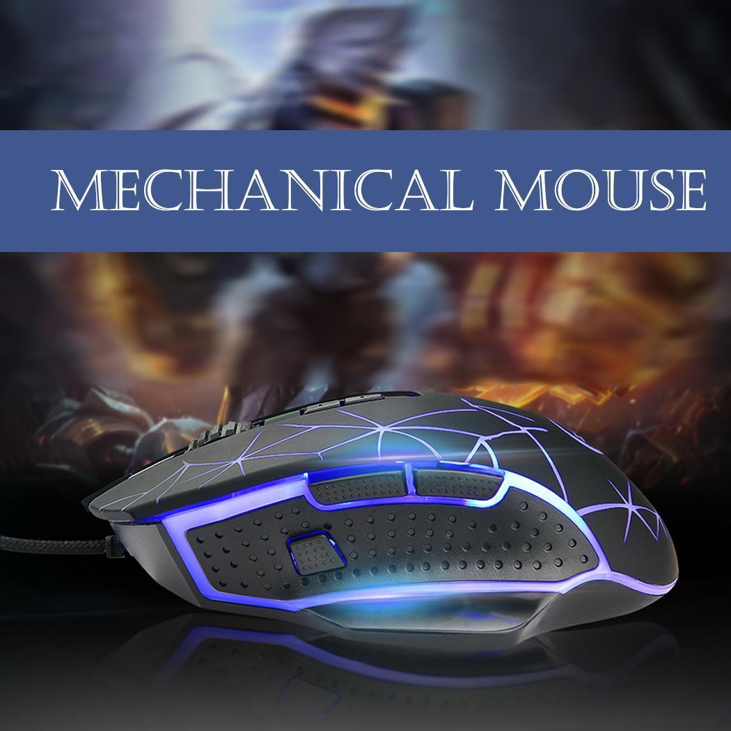 [해외]Professional Gaming Wired Mouse Ergonomic Optical for Laptop Computer Desktop, Laptop, For Video Game Casual/Professional Gaming Wired Mouse Ergon
