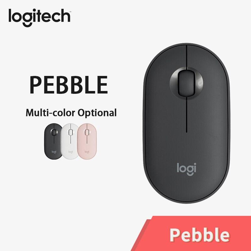 [해외]Manufacturer refurbished : Logitech PEBBLE Bluetooth Mouse Silent Wireless Mouse Thin&Light Portable Modern Mouse/Manufacturer refurbished : L