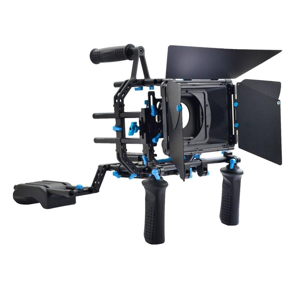 [해외]DSLR 카메라 및 비디오 캠코더 용 FOTGA DP3000 DSLR 조작 장치 세트 영화 키트 어깨 장착 조작/FOTGA DP3000 DSLR Rig Set Movie Kit Shoulder Mount Rig for DSLR Cameras and Video C