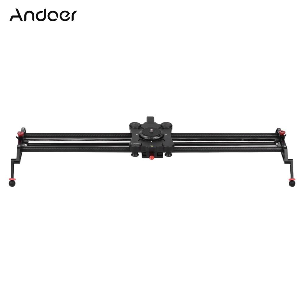 [해외]Andoer GP-80QD 80cm/2.6ft Time Lapse Video Shot Carbon Fiber Motorized Camera Track Slider Dolly Video Rail for Canon Nikon DSLR/Andoer GP-80QD 80