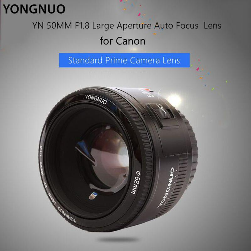 [해외]Fomito yongnuo yn50mm f/1.8 af 렌즈 조리개 자동 초점 렌즈 캐논 eos 60d 70d 5d2 5d3 600d 캐논 dslr 카메라 용 대형 조리개/Fomito yongnuo yn50mm f/1.8 af 렌즈 조리개 자동