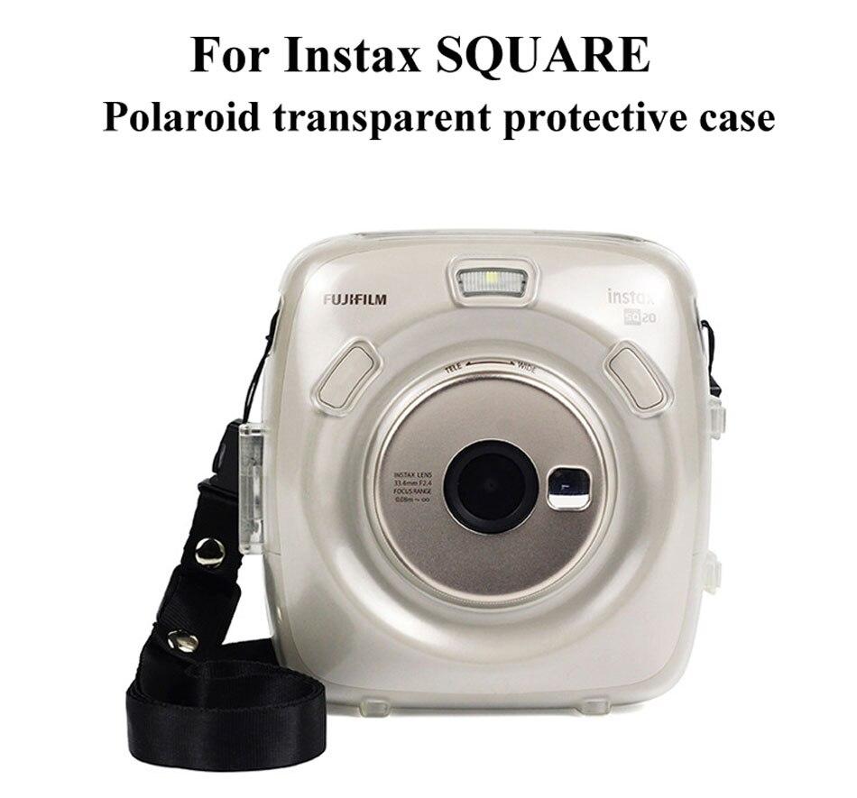 [해외]For SQUARE SQ20 Camera Special Transparent Shell Crystal Protective Cover Environmental Protection Storage CaseStrap/For SQUARE SQ20 Camera Specia