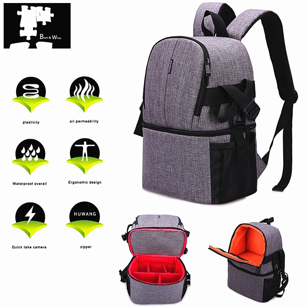 [해외]Waterproof DSLR Camera bag Backpack for Fujifilm X-T100 X-T30 X-T20 X-T10 X-T3 X-T2 X-T1 X-A20 X-A10 X-A5 X-A3 X-E3 X-E2 X-E1/Waterproof DSLR Came