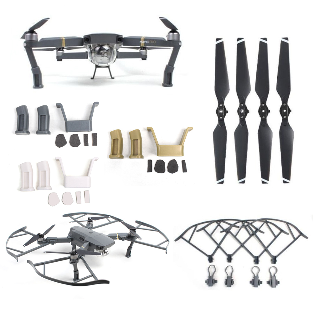 [해외]3in1 Mavic Pro Landing Gear + Propeller Protector Guard + Props Propellers Blade For DJI MAVIC PRO Accessories kit/3in1 Mavic Pro Landing Gear + P