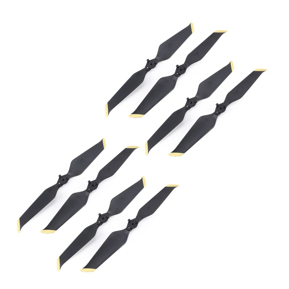 [해외]4 Pairs Low Noise Propeller CW CCW Props Blade Spare Part for DJI Mavic 2 Drone Quadcopter Spare Parts Accessories/4 Pairs Low Noise Propeller CW