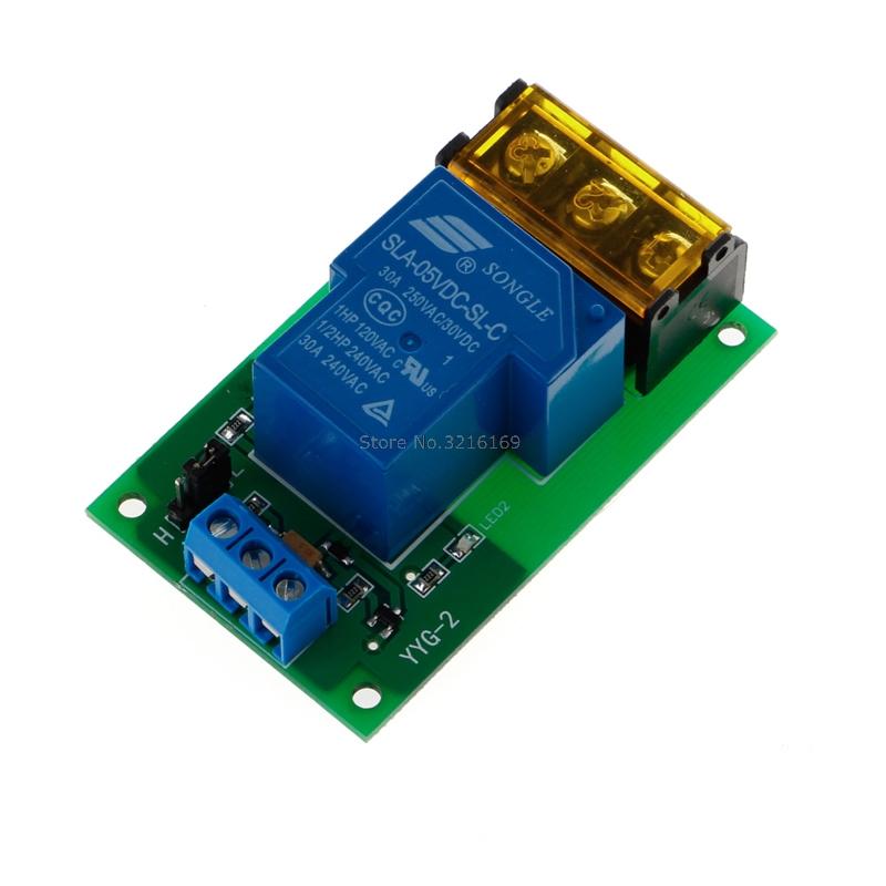 [해외]1 채널 용 5V 30A 릴레이 보드 모듈 광 커플러 절연 고 / 저 트리거 진격/For 1 Channel 5V 30A Relay Board Module Optocoupler Isolation High/Low Trigger Promotion