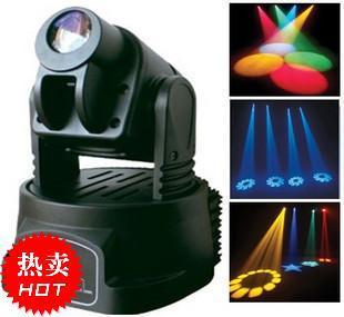[해외]?미니 머리 RGB 무대 조명 파티 DJ는 디스코 클럽 RGB 여러 가지 빛깔의 변경 DMX 컨트롤러 미니 고보 스팟 워시 라이트 LED 이동/ Mini LED Moving Head  RGB Stage Lighting Party Dj Disco Club  RGB