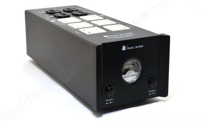 [해외]우루루 LB-5500 오디오 애호가 전원 필터 공장 5000W 15A LB5500 블랙/Bada LB-5500 Audiophile Power Filter Plant 5000W 15A LB5500 Black