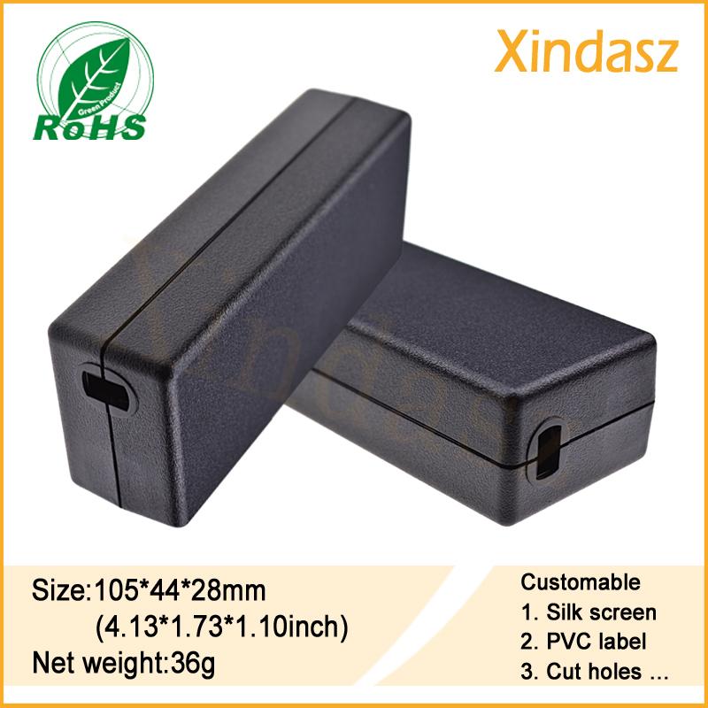 [해외]105 * 44 * 28mm  블랙 전자 프로젝트 상자 사용자 지정 플라스틱 PCB 인클로저 플라스틱 상자/105*44*28mm Free shipping Black electronics project boxes custom plastic pcb enclosure