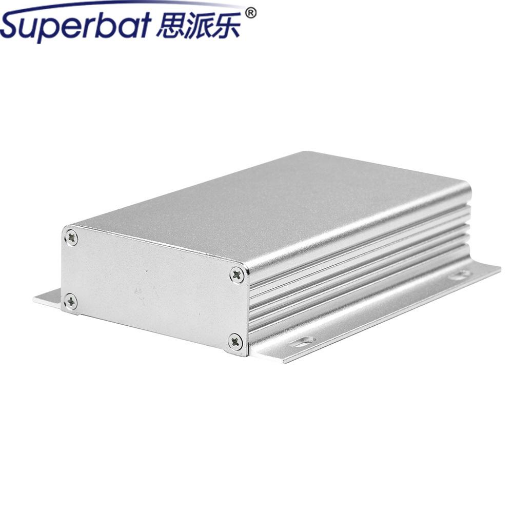 [해외]110 * 62 * 25mm 알루미늄 프로젝트 상자 알 인클로저 케이스 전자 악기 용 앰프 PCB DIY 4.33 & * 2.44 & * 0.98 및 나사/110*62*25 mm Aluminum Project Box Al Enclosure Case