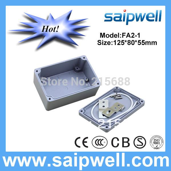 [해외]2015 저렴한 비용으로 방수 알루미늄 박스 120 * 80 * 55mm IP67 SP-AG-FA2-1/2015 Low Cost  Waterproof Aluminum Box 120*80*55mm IP67 SP-AG-FA2-1