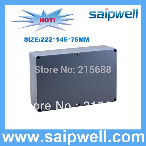 [해외]2015 IP67 알루미늄 방수 상자 222 * 145 * 75MM의 SP-AG-FA6/2015   IP67 Aluminum waterproof Box 222*145*75MM SP-AG-FA6