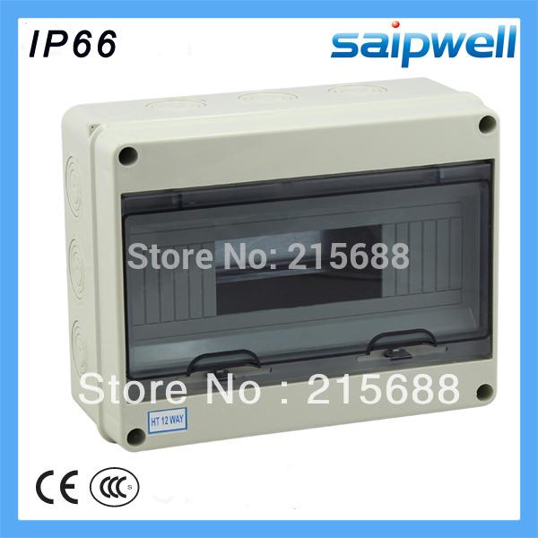 [해외]295 * 255 * 130mm (12)의 방법 ABS 가정 방수 배포 상자 전기 분배 상자 SHA-12/295*255*130mm 12 way ABS household waterproof Distribution Box Electric distribution bo