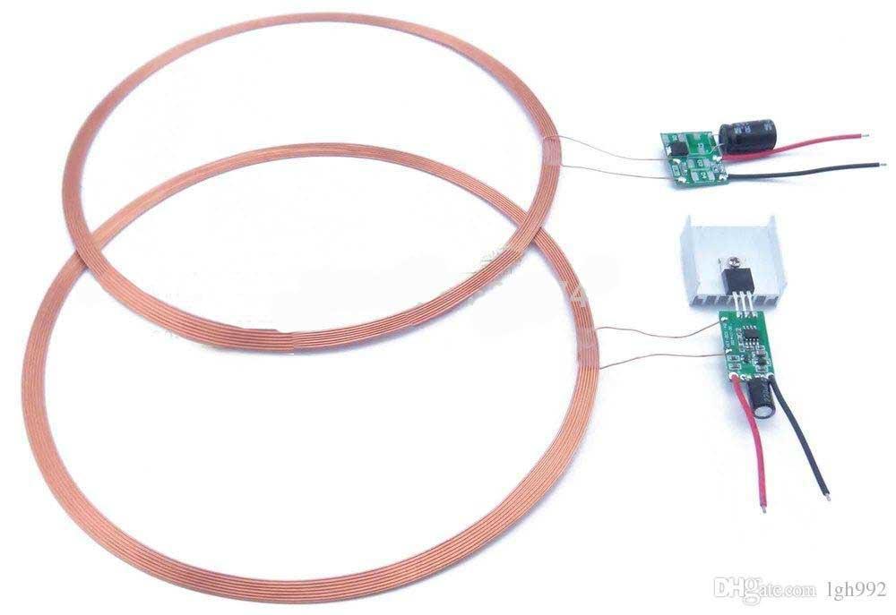 [해외]DIY에 대한 전원 공급 전송 모듈 PCBA 회로 기판을 충전 시스템 12V 600mA 원격 무선 충전 50mm 치/50mm Qi Charging System 12V 600mA Remote Wireless charging power supply transmiss