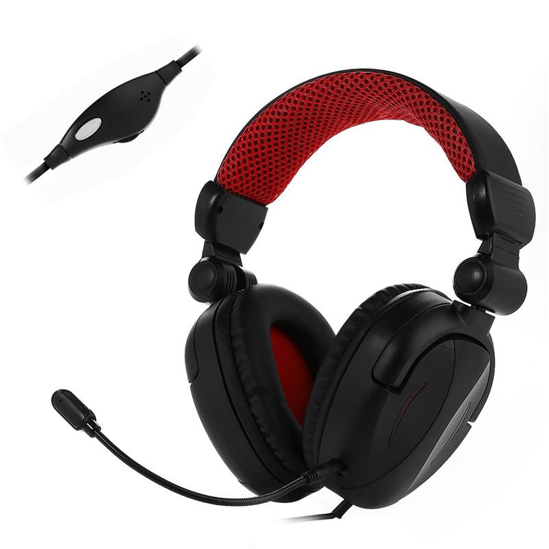 [해외]badasheng PS4 / Xbox ONE / 노트북 용 BDS-363P 헤드 밴드 헤드셋 3.5mm 게임용 헤드폰 마이크/badasheng BDS-363P for PS4/Xbox ONE/Laptop Mobile Phones Headband Headset 3.