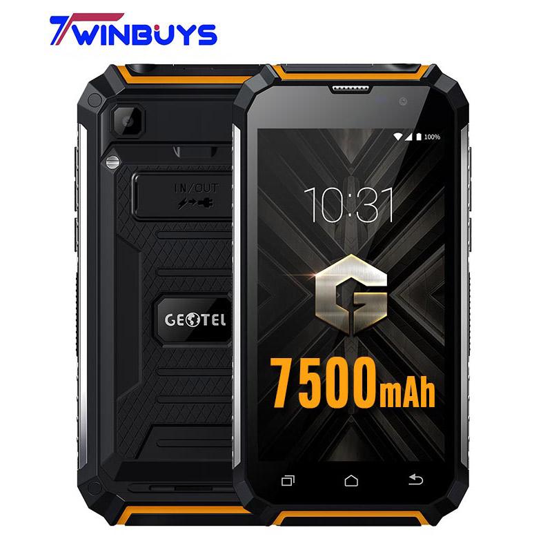 [해외]원래 Geotel G1 스마트 폰 3G WCDM? ? ???? ?? 7.0 힘 은행 5.0 & MTK6580A 쿼드 코어 2GB RAM + 16GB ROM 8MP 7500mAh 이동 전화/Original Geotel G1 Smartphone  3G WCD
