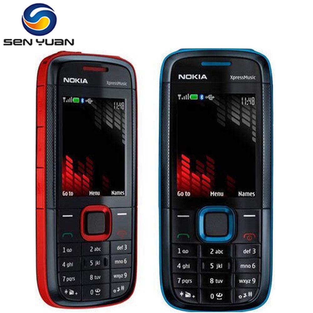 [해외]?원래 노키아 5130 XpressMusic 잠금 해제 휴대 전화 블루투스 FM 러시아어 키보드 지원 휴대 전화/ Original Nokia 5130 XpressMusic unlocked mobile phone Bluetooth FM russian keyboar