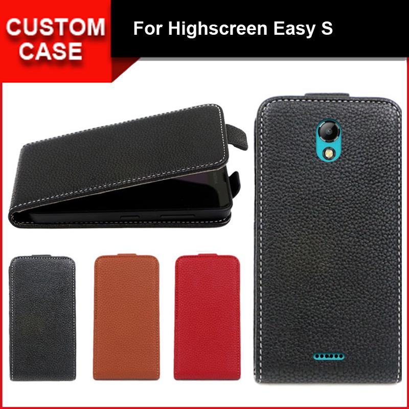 [해외]럭셔리 플립 수직 커버 가방 플립 위아래로 PU 가죽 케이스 Highscreen 쉬운 S, 에 대 한/Luxury flip vertical cover bag flip up and down PU Leather Case for Highscreen Easy S, fr