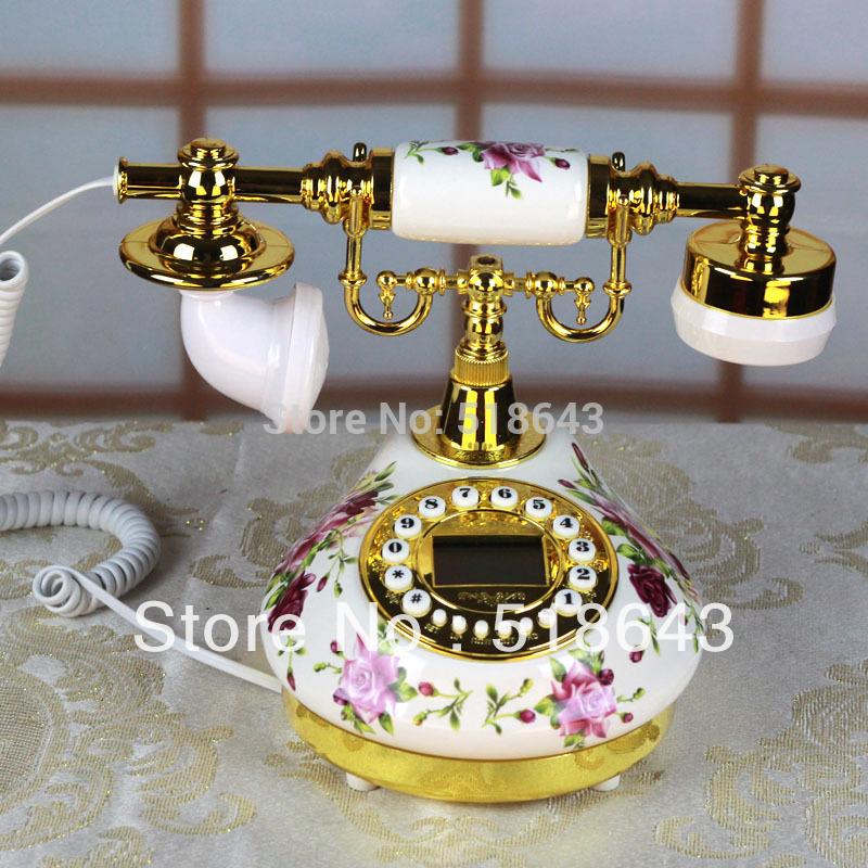 [해외]고대 방법을 복원  세라믹 전화 농촌 골동품 전화 유럽 전화/Free shipping ceramic telephone rural antique telephone European phone restoring ancient ways