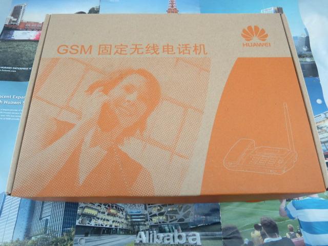 [해외]원래 화웨이 ETS3125i GSM 무선 데스크톱 전화, SIM 카드 GSM 무선 전화, GSM은 무선 단말기 900 / 1800MHz 대역을 고정/Original Huawei ETS3125i GSM wireless desktop phone, sim card G