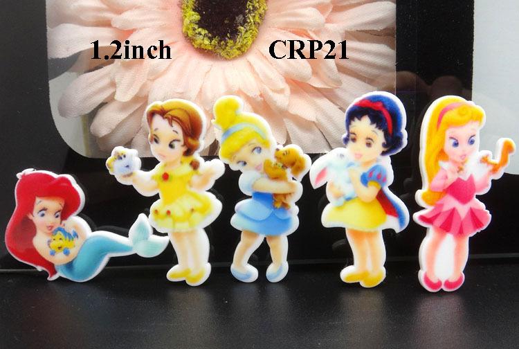 [해외]50pcs, 1.2inch kawaii 만화 아기 공주 소녀 수지 평면 토끼 평면 수지 뒤쪽 수지 CRP21/50pcs,1.2inch kawaii cartoon baby princess girls resins flatback planar resin flat ba