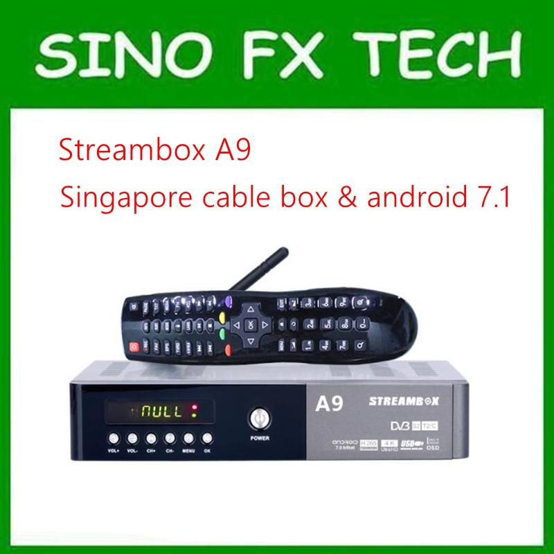 [해외]싱가포르 starhub 케이블 상자 & amp; ? ? ???? ?? 콤보 streambox A9 플러스 시계 238 채널/Singapore starhub cable box & 안드로이드 combo streambox A9 Plus watch 238