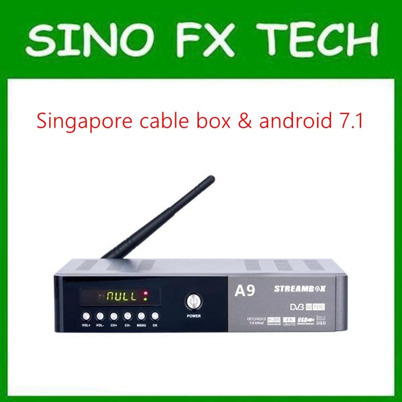 [해외]싱가포르 starhub 케이블 상자? ? ???? ?? 콤보 무료 시계 축구 채널 streambox A9 Plus/Singapore starhub cable box안드로이드 combo free watch football channels streambox A9 P