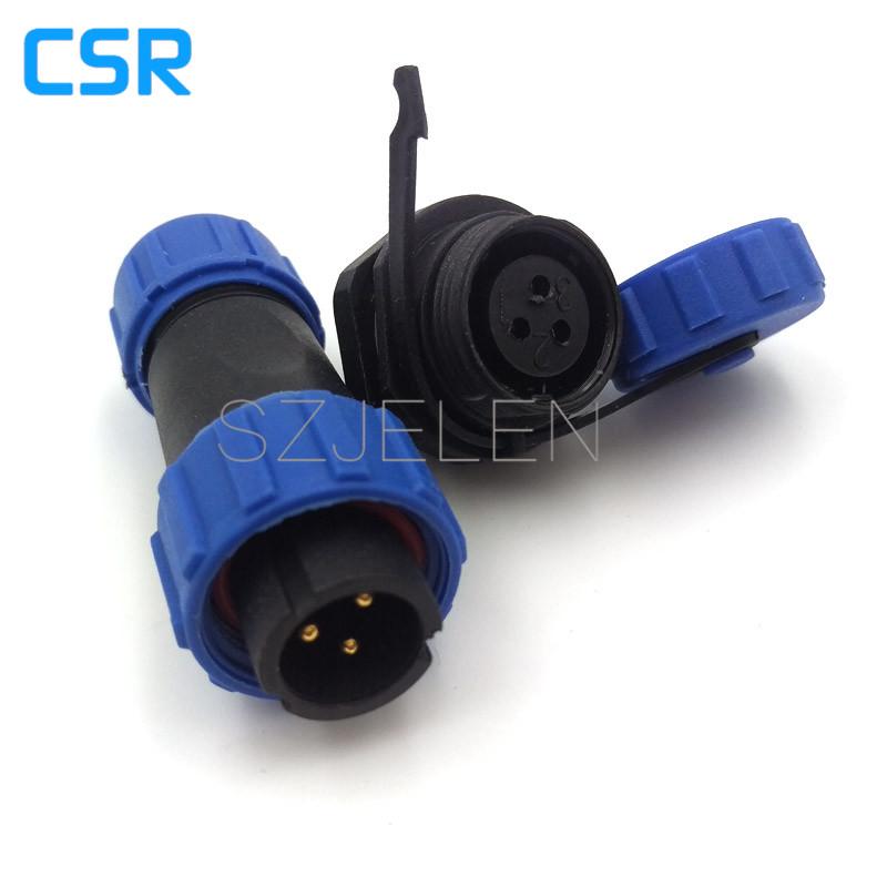 [해외]WEIPU SP1310, 3 핀 방수 커넥터, IP68, LED 케이블 커넥터, 3 핀 플러그 및 소켓. 커넥터 자동, 전기 커넥터/WEIPU SP1310, 3 pin Waterproof Connector,IP68,LED Cable Connector, 3 pin