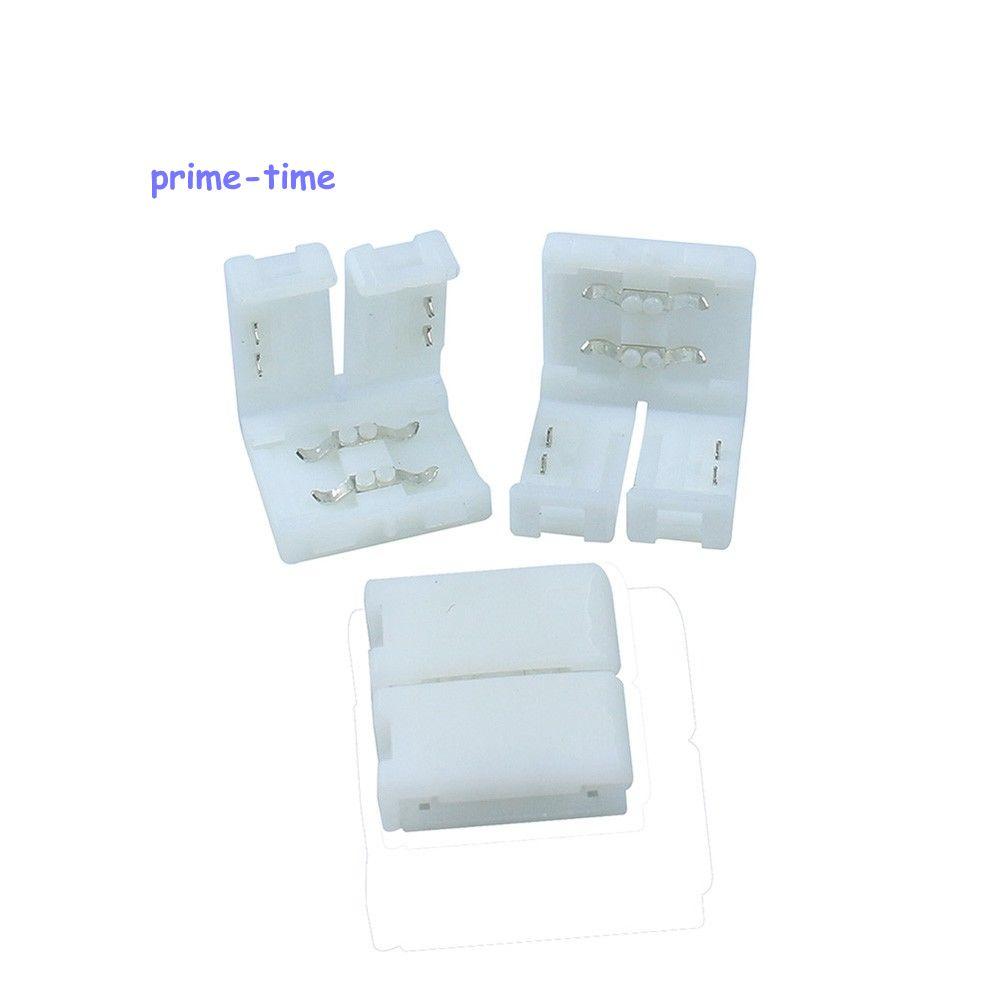 [해외]20pcs 10mm 2 핀 스트립 커넥터에 FPC PCB 솔더리스 쉬운 어댑터 5050 5630에 대 한 단색 LED 스트립 빛/20pcs 10mm 2 PIN Strip To Strip Connector FPC PCB Solderless Easy Adapter