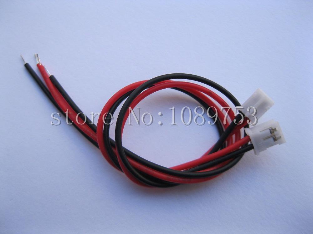 [해외]20pcs PH 2.0mm 피치 2 핀 여성 Connector26AWG 200mm 리드 케이블/20 pcs PH 2.0mm Pitch 2 Pin Female Connector26AWG 200mm Leads Cable
