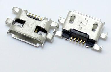 [해외]20PCS 모토로라 Moto G 용 소켓 포트 충전 용 마이크로 USB 커넥터 Blackberry 9900 9930 용 2 세대 Xt1069 Xt1068/20PCS Micro USB Connector Charging Socket Port For Motorola