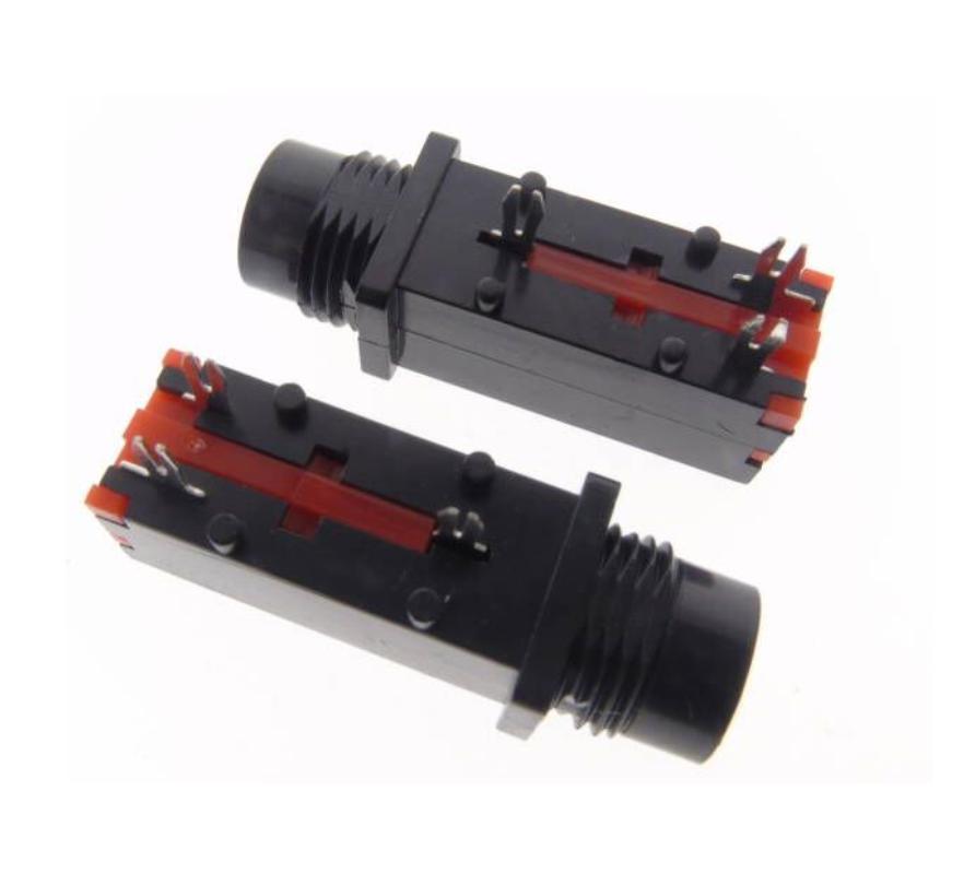 [해외]마이크 소켓에 대 한 10pcs 오디오 잭 6.35mm 3Pin 모노 오디오 마이크 용접 라인/10pcs Audio Jack 6.35mm 3Pin Mono Audio Microphone Welding Line For Microphone Socket