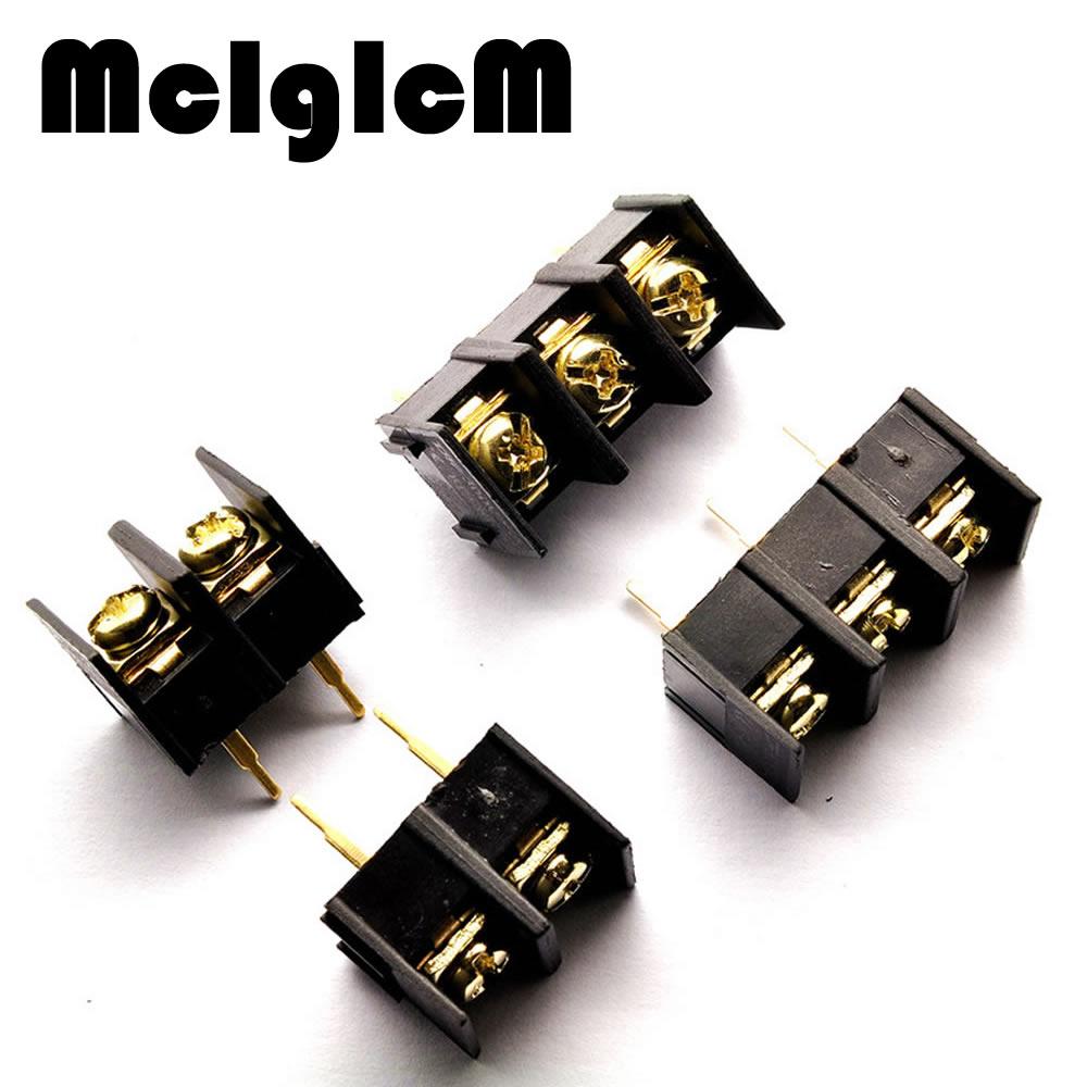 [해외] 10pcs 10MM 300V 25A 10mm 피치 커넥터 PCB 스크류 터미널 블록 커넥터 2pin 3pin/Free shipping 10pcs 10MM 300V 25A 10mm pitch connector pcb screw terminal block conn