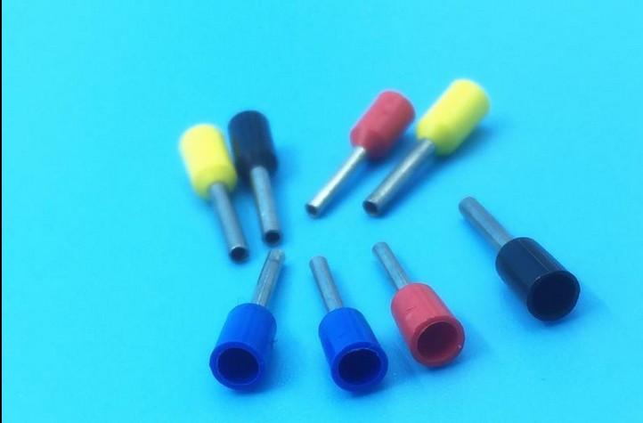 [해외]관형 예비 절연 단자 / 냉간 압착 배선 단자/tubular pre-insulating terminals / cold-pressed wiring terminal