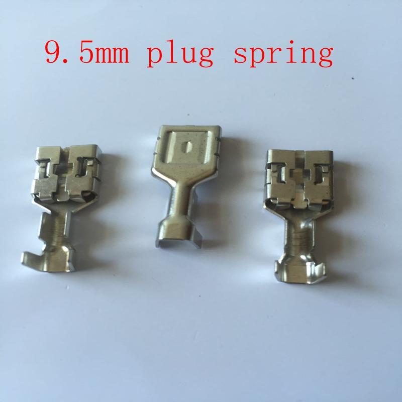 [해외]10pcs / lot 자동차 커넥터 터미널 9.5 시리즈 9.5 플랜지 터미널 블록/10pcs/lot  Automotive Connector  Terminals 9.5 Series 9.5 Flanged Terminal Blocks