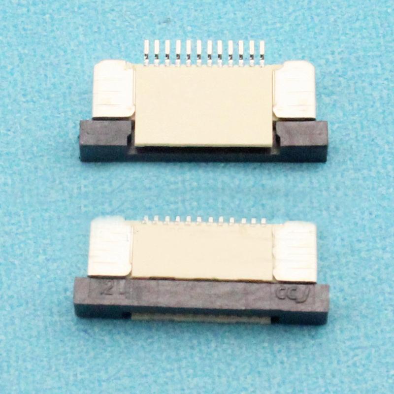 [해외](100PCS / 많은) 1.0mm 인-12P 서랍 모드 낮은 접점 유형 12Pin의 1.0mm 인 피치 FFC FPC 커넥터/(100Pcs/lot) 1.0mm-12P Drawer Mode Low Contact Type 12Pin 1.0mm Pitch FFC F