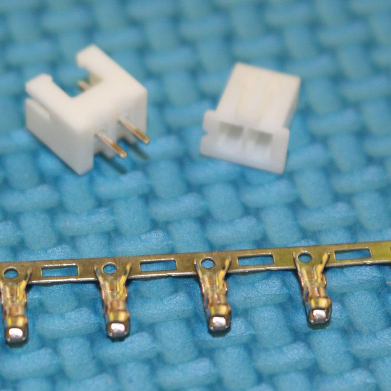 [해외]자동차 요법에 대한 1000sets 2.54MM 2 핀 / 방법 전자 터미널 커넥터 키트 XH2.54 스트레이트 바늘 플러그 + 잭 + 터미널 어댑터/1000sets 2.54mm 2Pin/way Electronic Terminal Connector Kit XH2