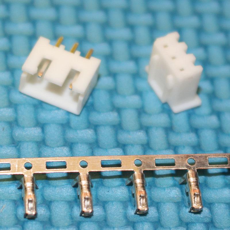 [해외]자동차 요법에 대한 300sets 2.54MM 3 핀 전자 터미널 커넥터 키트 XH2.54 3P 스트레이트 바늘 플러그 + 잭 + 터미널 어댑터/300sets 2.54mm 3Pin Electronic Terminal Connector Kit XH2.54 3P S