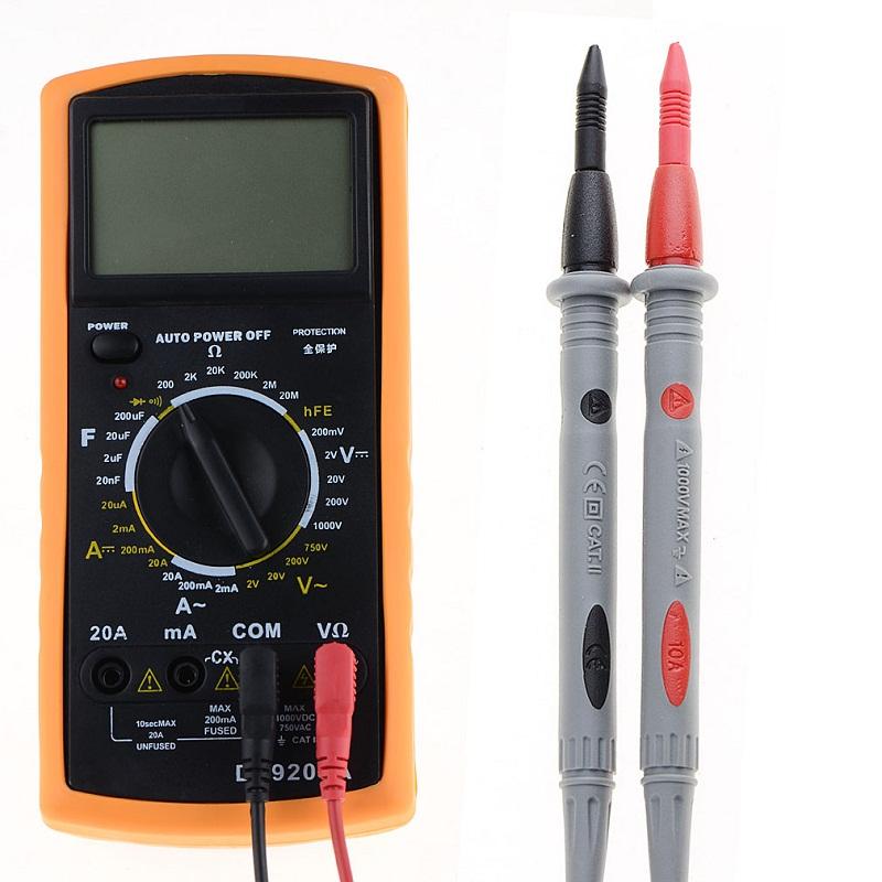 [해외]1Pair 3010B 헤비 듀티 멀티 미터 전압계 고무 시험 테스트 리드 와이어 펜 케이블 1000V 10A SR1GP30P0.3/1Pair 3010B  Heavy Duty Multimeter Voltmeter Rubberized Test Probe Leads