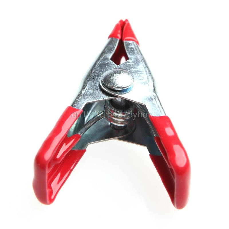 [해외]Lot 10Pcs 금속 스프링 클램프 2 개 및 부드러운 플라스틱 팁 손잡이 포함 사진 -L057 New hot/Lot 10Pcs Metal Spring Clamps 2& Clip w/ Soft Plastic Tips Grip Photos-L057 New hot