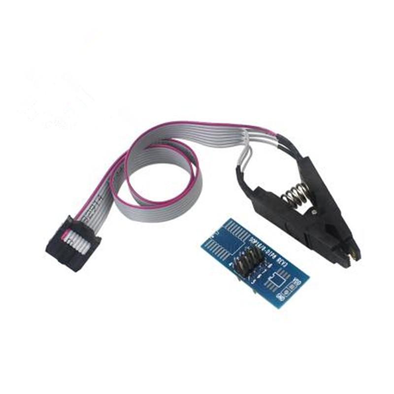 [해외]SOIC8 SOP8 플래시 칩 IC 테스트 클립 소켓 아답터 BIOS / 24 / 25 / 93 프로그래머/SOIC8 SOP8 Flash Chip IC Test Clips Socket Adpter BIOS/24/25/93 Programmer