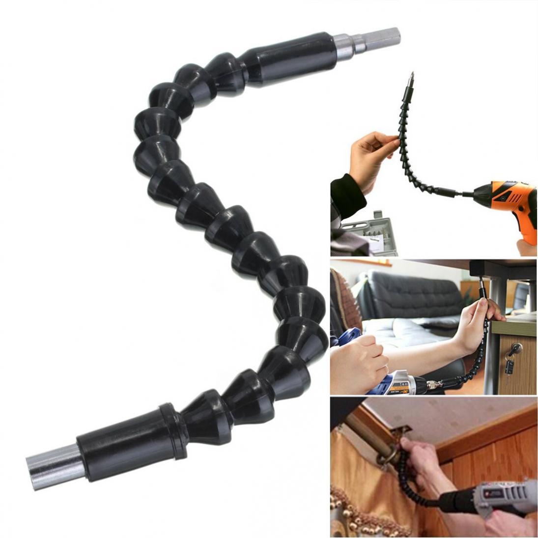 [해외]295mm 플렉시블 샤프트 비트 익스텐션 스크루 드라이버 드릴 비트 홀더 전자 드릴 용 링크 연결/295mm Flexible Shaft Bit Extention Screwdriver Drill Bit Holder Connect Link for Electronic