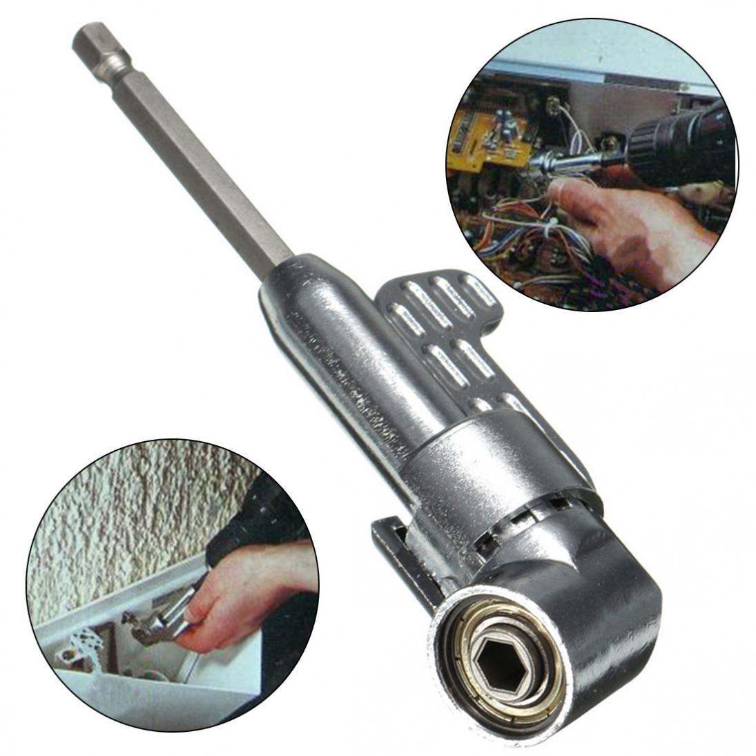 [해외]1/4 인치 육각 스크루 드라이버 비트 홀더 105도 각도 연장 소켓 홀더 어댑터/1/4 Inch Hex Screwdriver Bit Holder 105 Degree Angle Extension Socket Holder Adaptor