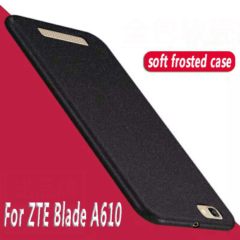 [해외]높은 품질 ZTE 블레이드 A610 실리콘 케이스에 대 한 사암 소프트 Tpu 전화 프로텍터 다시 커버에 ZTE 블레이드 A610 BA610 럭셔리 반지/High quality For ZTE Blade A610 Silicone Case Sandstone Soft