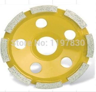 [해외] 가정 장식의 품질 대리석 / 화강암 / 세라믹 / 콘크리트 범용 연삭을100 * 20 * 5mm 단일 컵 휠/Free shipping home decoration quality 100*20*5mm single cup wheel for grinding marbl