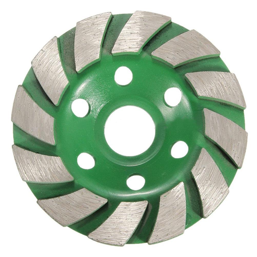 [해외]100mm 디스크 모양의 그라인더 컵 4 & 다이아몬드 세그먼트 그라인딩 휠 콘크리트 화강암 석재 돌 도자기 Terrazzo Marble/100mm Disc Bowl Shape Grinder Cup 4& Diamond Segment Grinding Whe