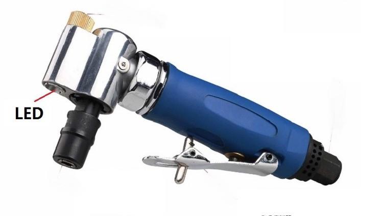 [해외]1 / 4 & 공압 LED 공기 다이 그라인더, 90도 공기 연삭 공구 기계/1/4& pneumatic LED air die Grinder, 90 degree air grinding tools machine